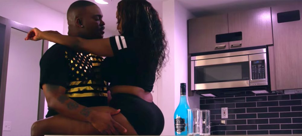 "J Banks releases new video ""Give It Up"" starring Lil Blood"