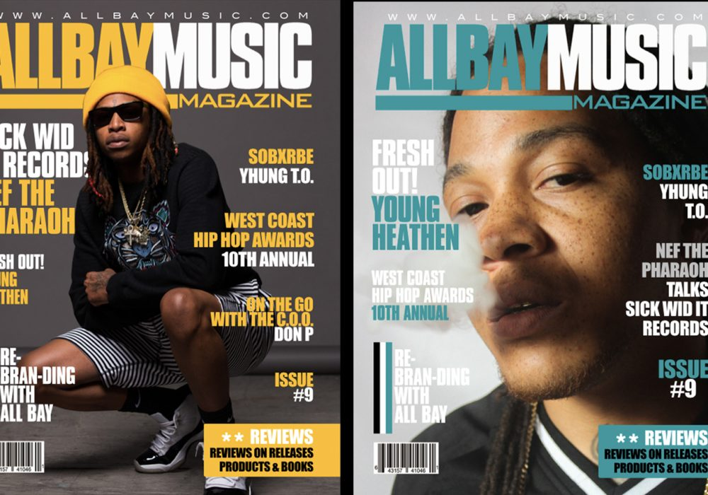 Issue #9 with Nef the Pharaoh and Young Heathen Out Now!