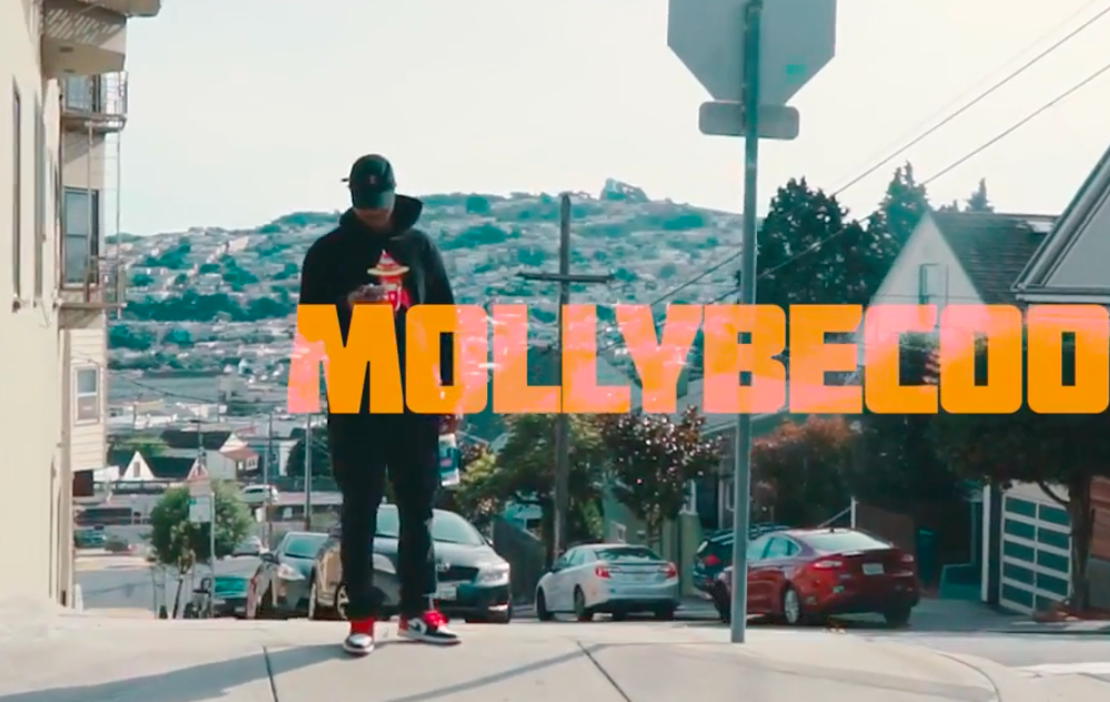 "MollyBeCoolin premieres his latest visual freestyle ""Talkin Shit"""